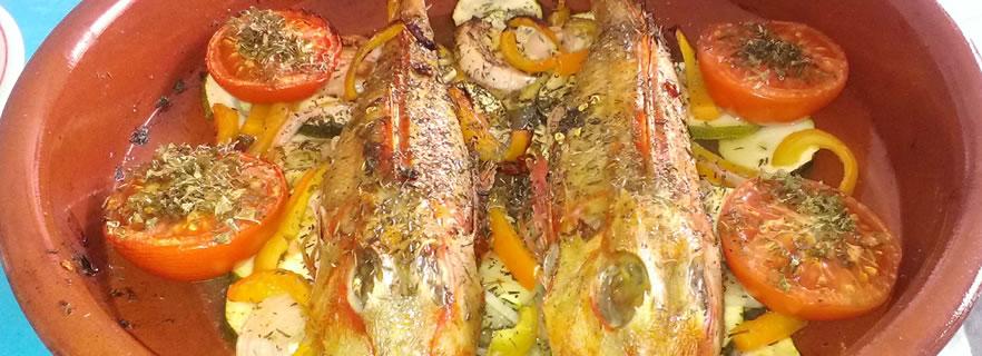 recette de grondins à l'algeroise, cuisine algérienne