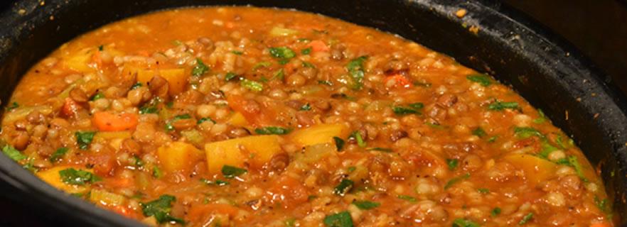 Soupe aux lentilles chorba adess cuisine alg rienne - Recette cuisine algerienne pdf ...